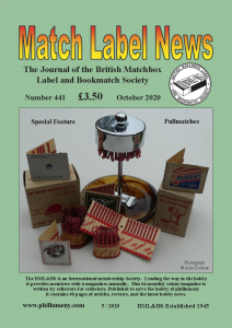 MLN 441 October 2020 Front Cover