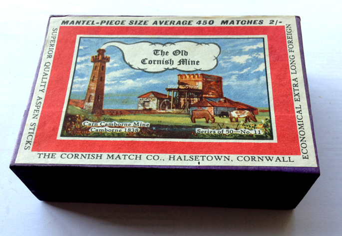 Mantlepiece size box, Carn Camborne Mine