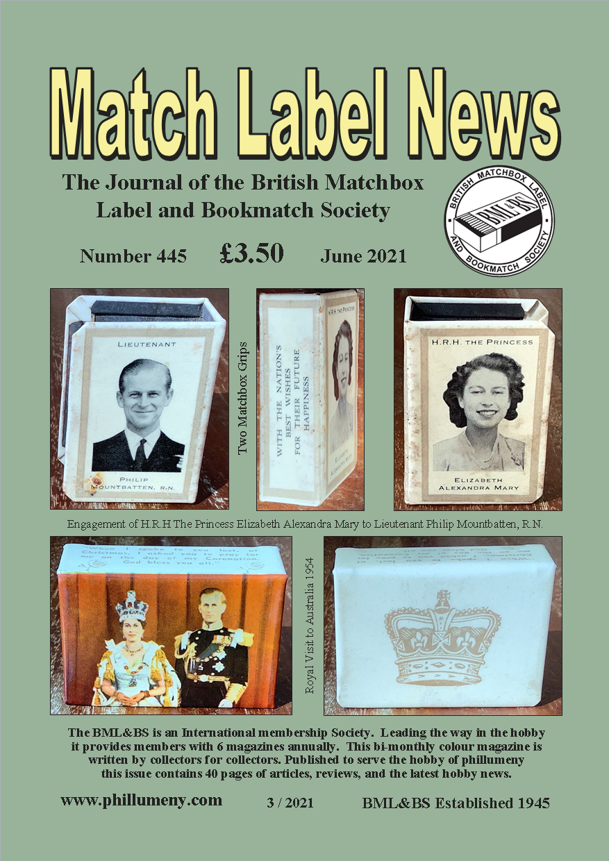 Front cover of the June magazine