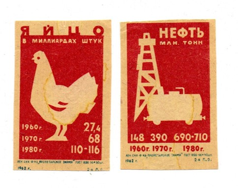 I recall these are 2 of the earliest Russian labels given to me from a visiting coaster