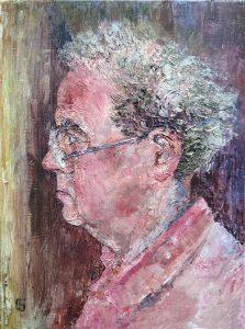 Portrait of Tom by Heather Gibbard
