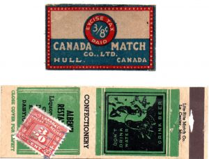 Canadian tax stamps