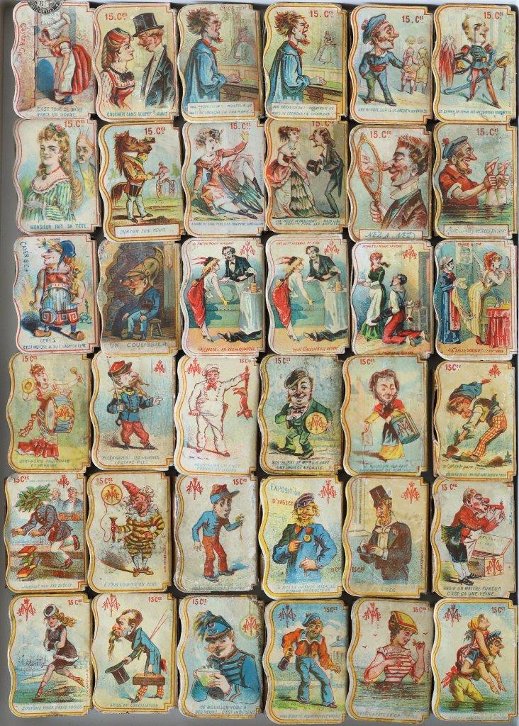 Type 11D boxes, Compagnie Générale des Allumettes Chimiques, 58 x 41 x 13 mm