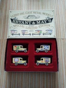 Bryant and May model cars