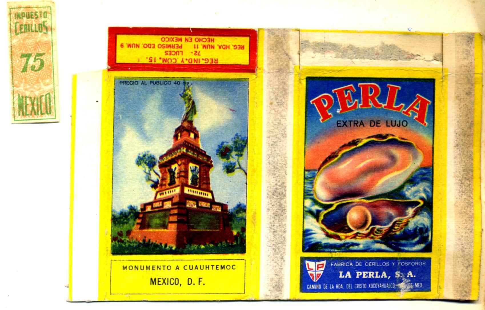 A Mexican skillet plus tax band, La Perla factory