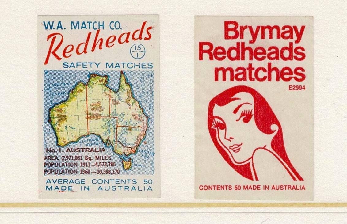 Two modern Australian labels