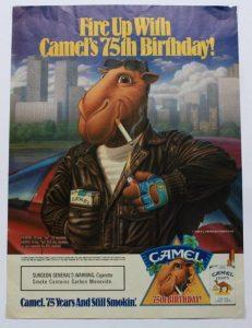 Joe Camel magazine advert