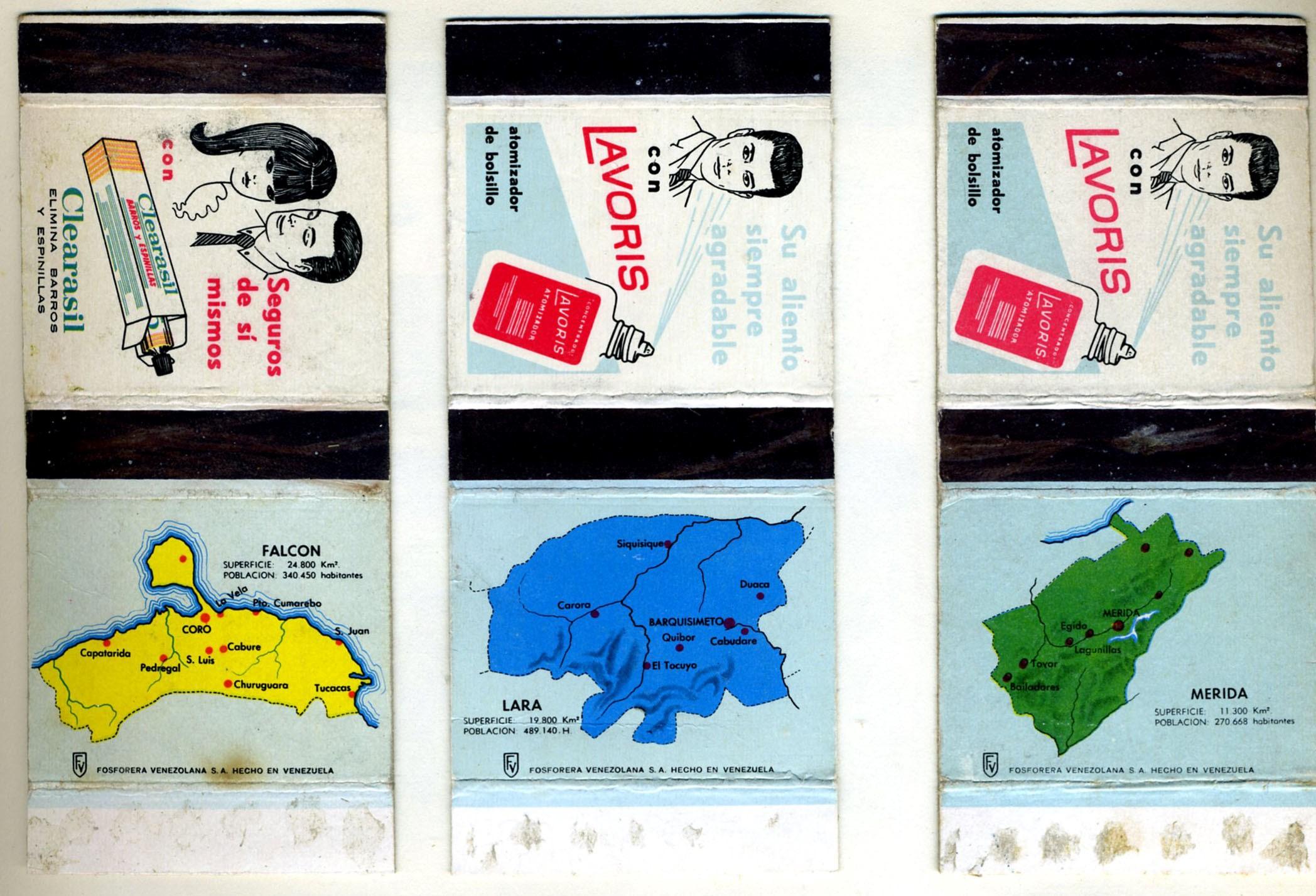 Some Venezuela skillets, maps