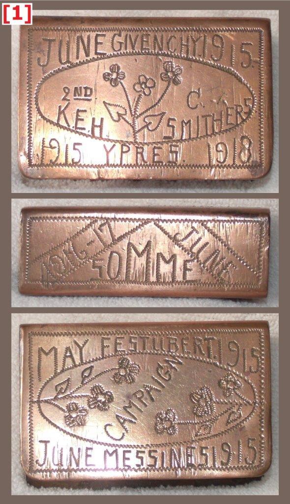 Copper grip, 62 x 40 x 23 mm