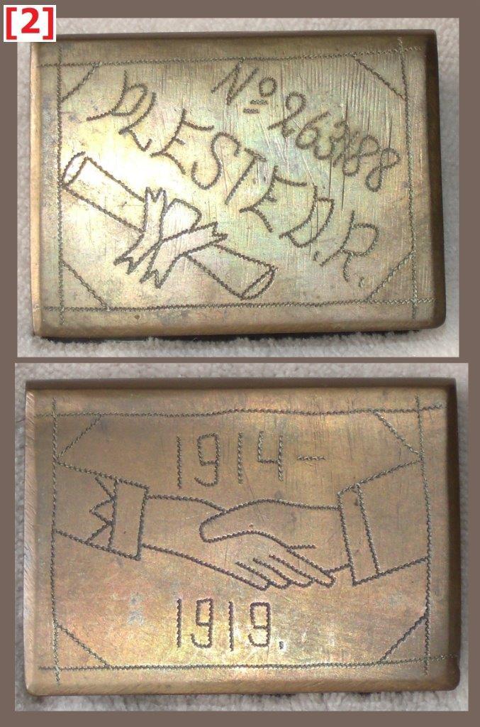 Brass grip, 60 x 44 x 19 mm