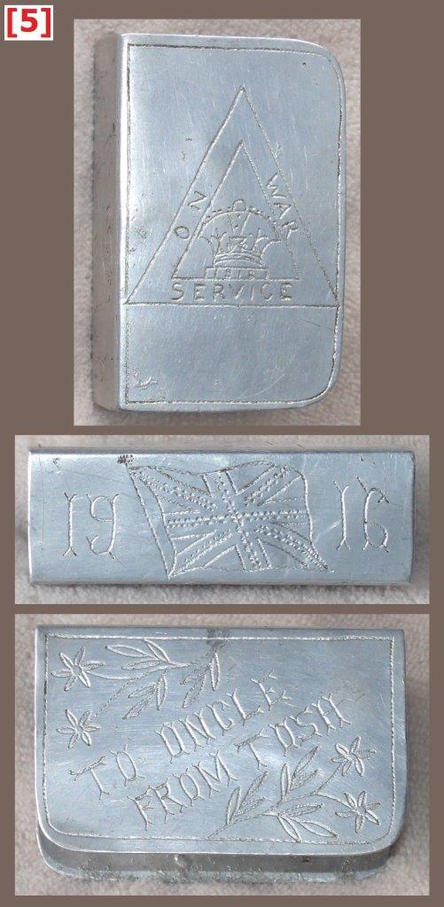 Aluminium grip, 60 x 38 x 22 mm