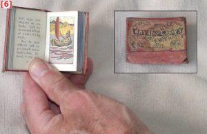 Miniature book, 58 x 41 x 20 mm