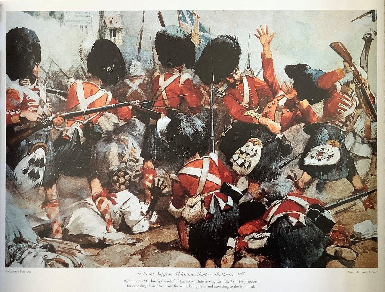 Portrait of Battle of Lucknow, 1857